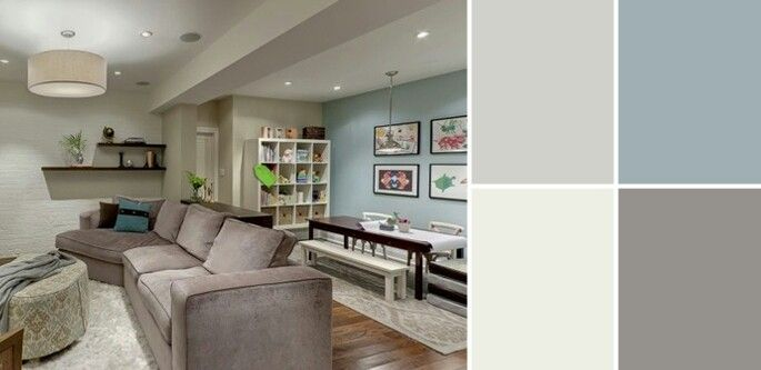 basement color ideas basement ideas pinterest on basement color palette ideas id=89253