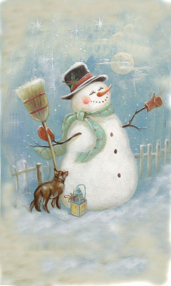 1000 Ideas About Painted Snowman On Pinterest Snowman