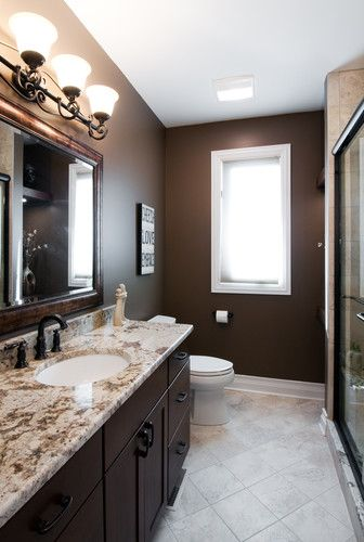 97 best images about brown bathrooms on pinterest paint on best art gallery wall color id=36511