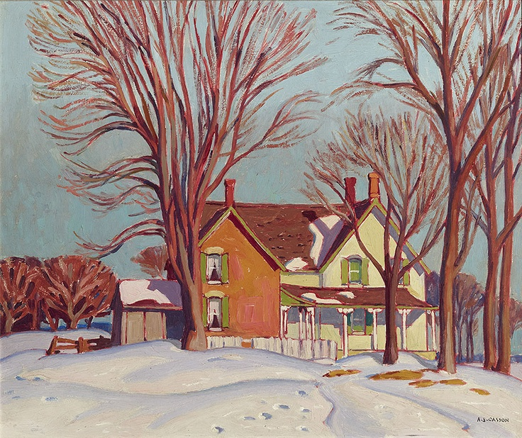 1000 Images About Paintings By ALFRED JOSEPH CASSON On