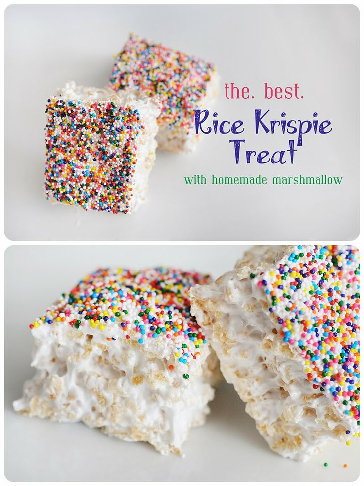 Meredith's Recipes: Meredith's *Perfect* Rice Krispie Treats….seriously like biting into a cloud