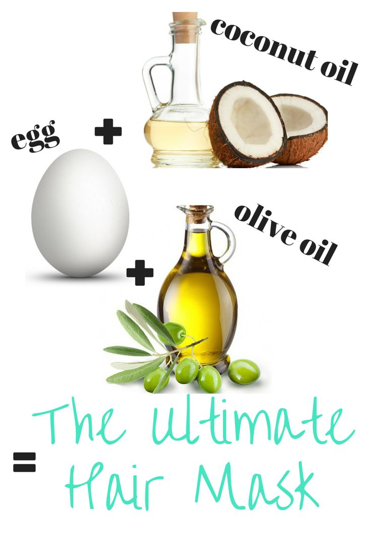 The Ultimate hair mask for super soft, shiny, voluminous, healthy, strong, and LONG hair! 1-2 Eggs 1-2 tblsp Coconut Oil 1-2 tblsp