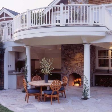 61 best images about Walk Out Basement Ideas on Pinterest ... on Walkout Patio Ideas id=58077