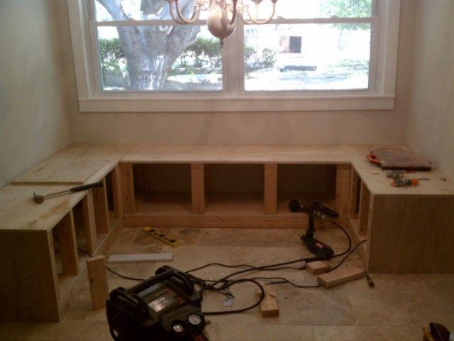 DIY Kitchen Nook Corner Bench Plans