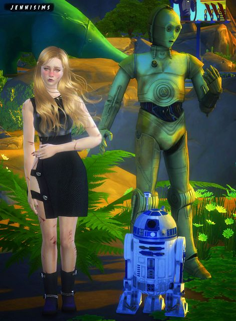 Jennisims Downloads Sims 4Droides Decorative Star Wars
