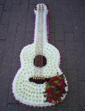 12 Best Images About Guitars Made Of Flowers On Pinterest