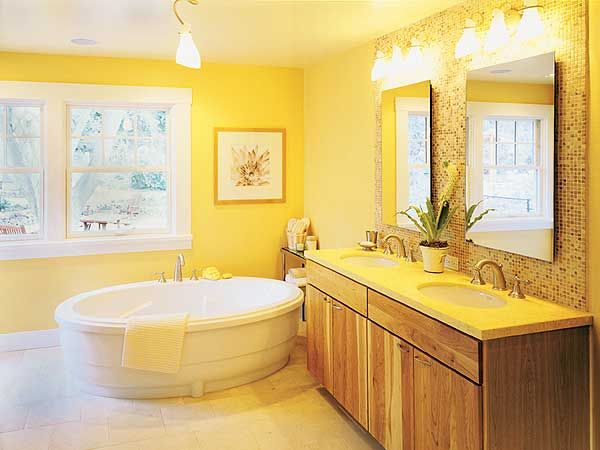 1000+ Ideas About Yellow Bathrooms On Pinterest
