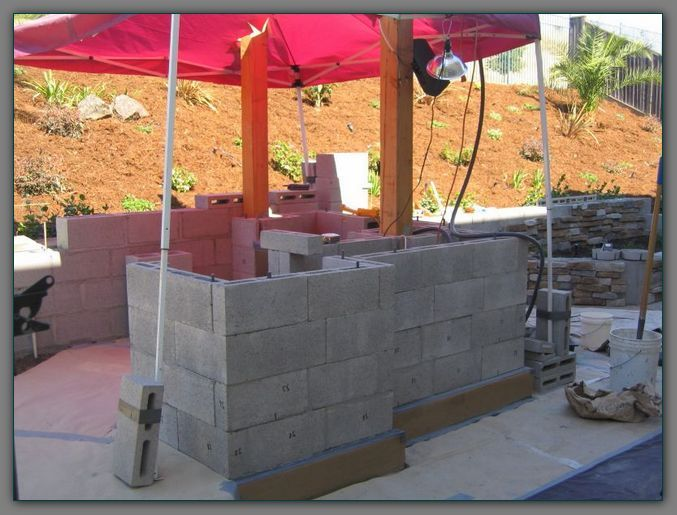 13 best images about Cinder Blocks on Pinterest | Outdoor ... on Cinder Block Fireplace Diy  id=84916