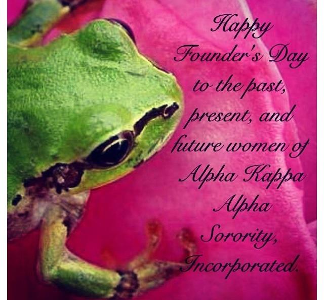 Alpha Phi Alpha Birthday Paraphernalia