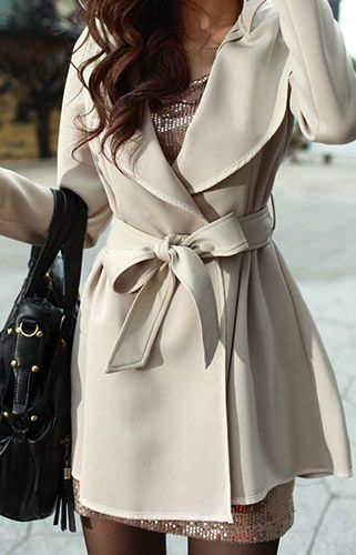 Fall outfit! In love with the trench!!: