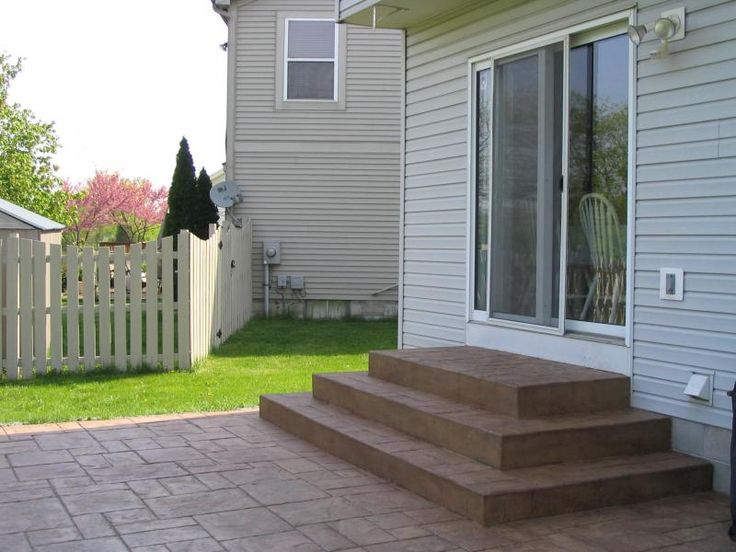 22 best images about stamped concrete patio ideas on ... on Square Concrete Patio Ideas id=46485