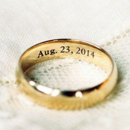 17 Best ideas about Wedding Ring Engraving on Pinterest | Platinum