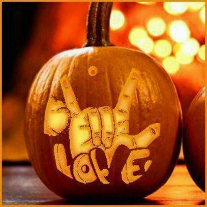 Awesome asl asl pinterest carving pumpkins and love