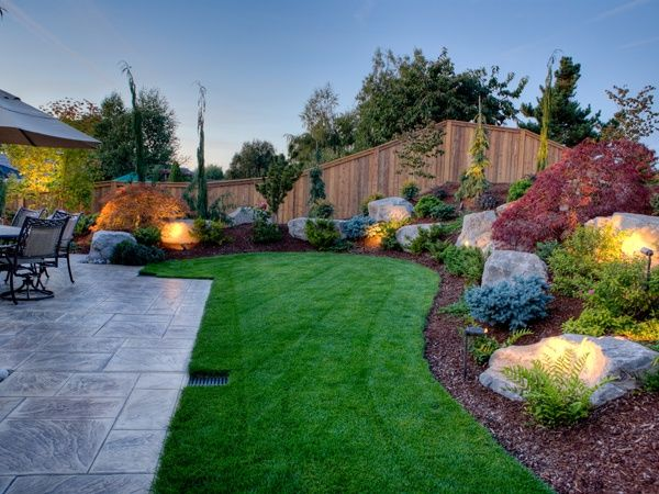 65 best images about berm and mound landscaping on on stunning backyard lighting design decor and remodel ideas sources to understand id=76304