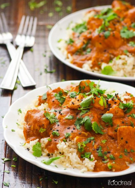 Slow Cooker Butter Chicken Recipe: