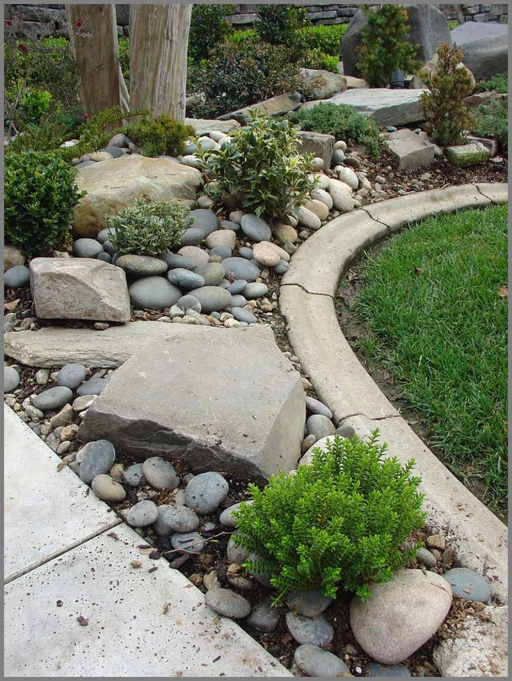 River Pebbles Landscaping