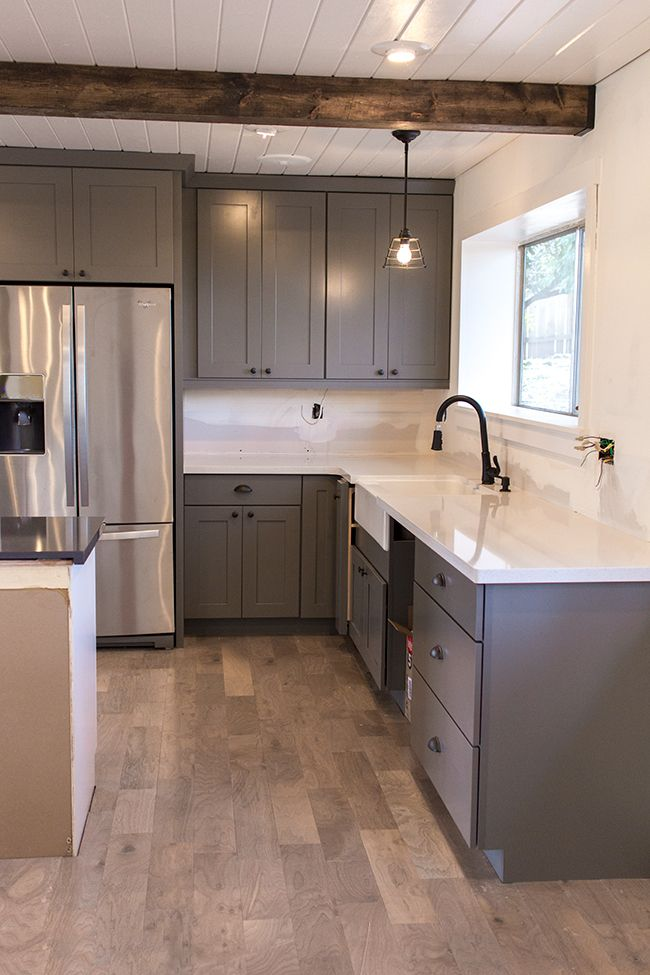 Jenna Sue: Kitchen Chronicles: The counters are in ... on Gray Countertops With Maple Cabinets  id=92670
