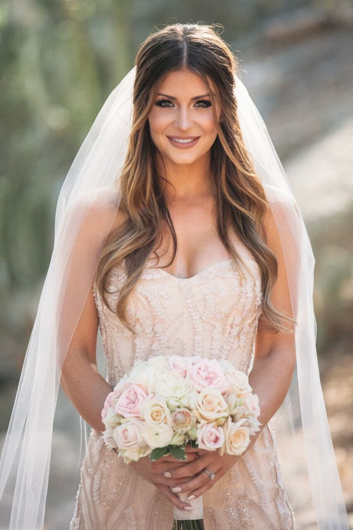 Wedding Hairstyles For Long Curly Hair Half Up Half Down Page 1