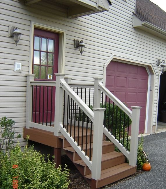 back door steps ideas | OK, so you need more than a ... on Backdoor Patio Ideas id=64134