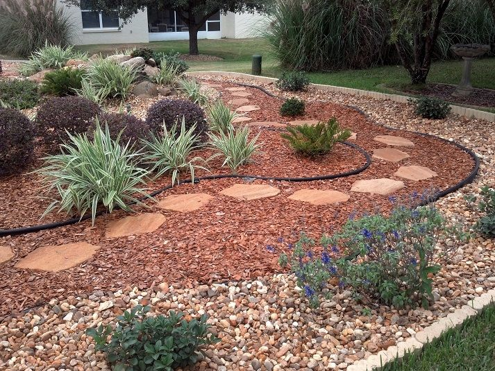 17 Best images about xeriscape designs on Pinterest ... on Non Grass Backyard Ideas  id=75596
