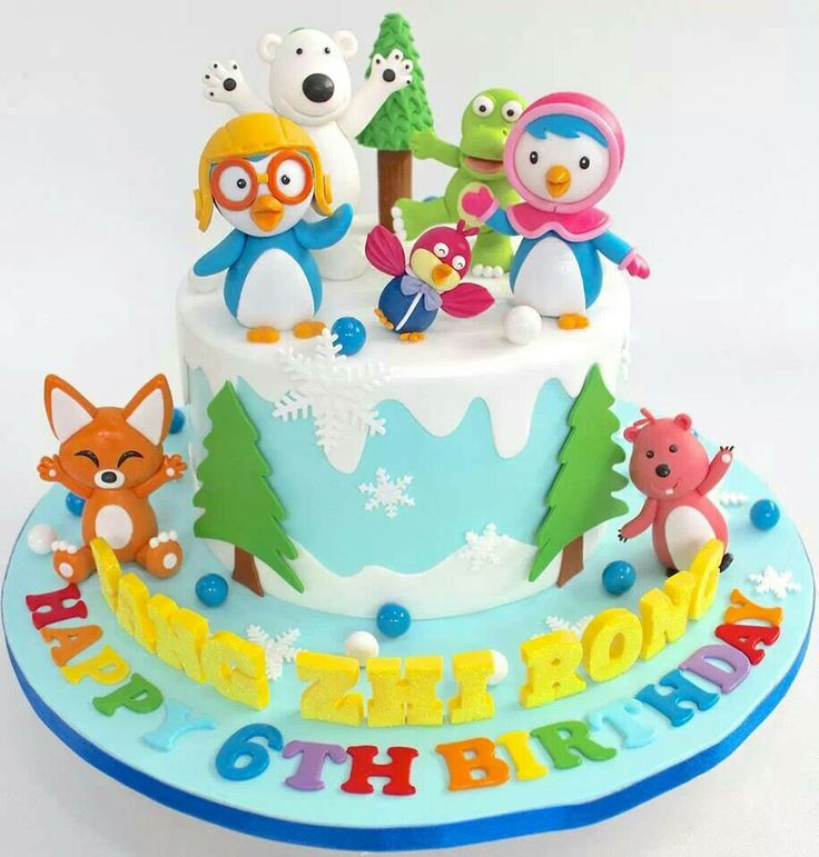 17 Best Images About Pororo Cake On Pinterest Eeyore