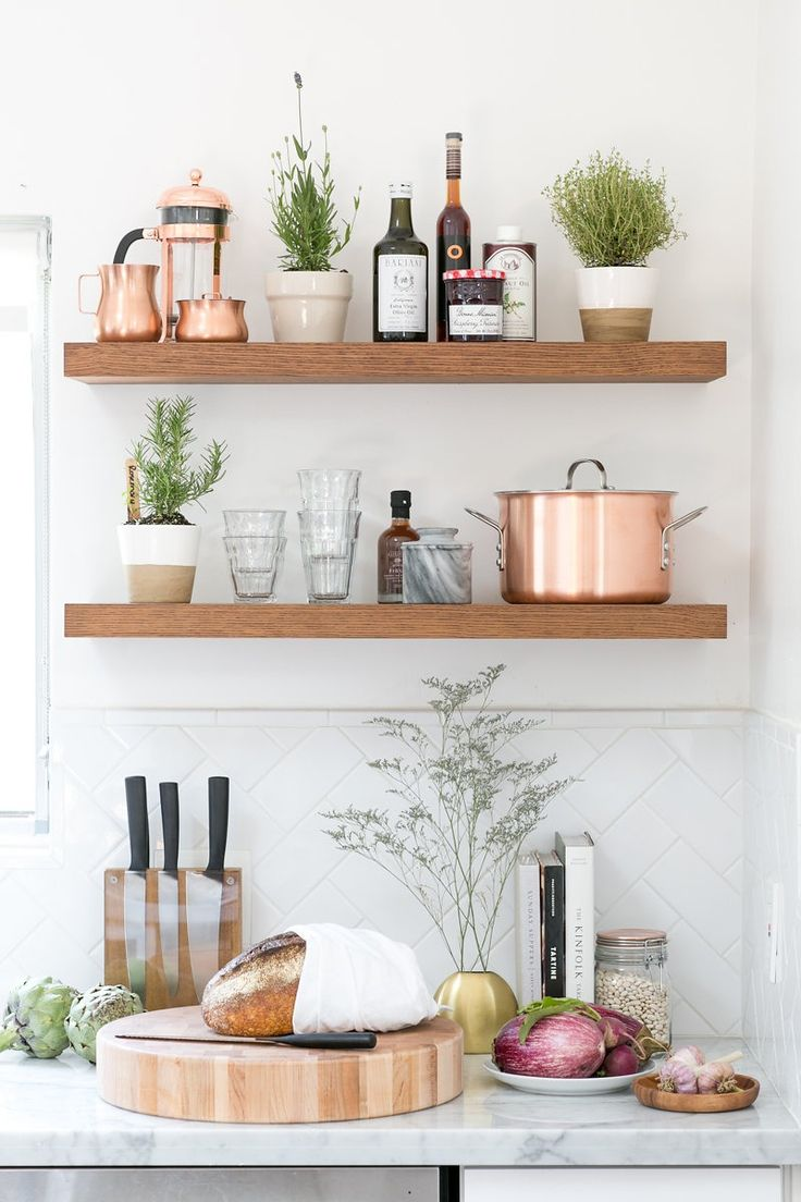 2962 best images about cuisine on pinterest open shelving industrial and modern kitchens on kitchen decor open shelves id=40771
