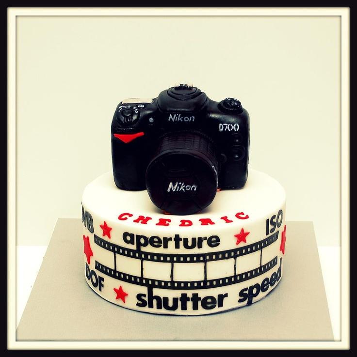 Camera Cake Decorations