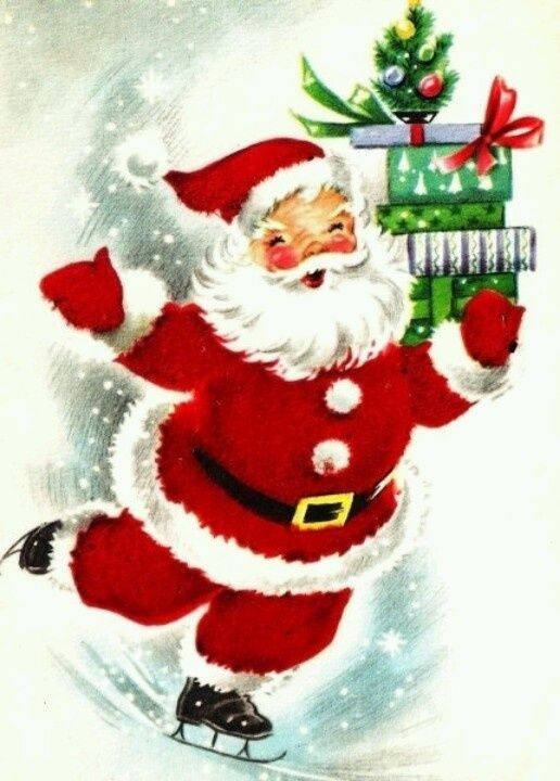 1000 Images About Christmas Cards On Pinterest Vintage