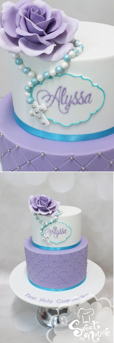 Best 20 Communion Cakes Ideas On Pinterest Holy