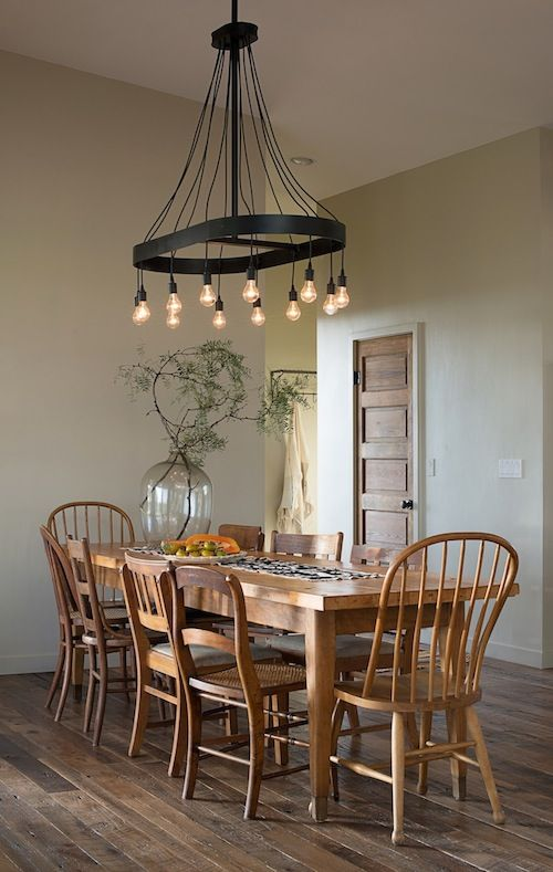 Love This Country Rustic Look The Light Fixture Plank
