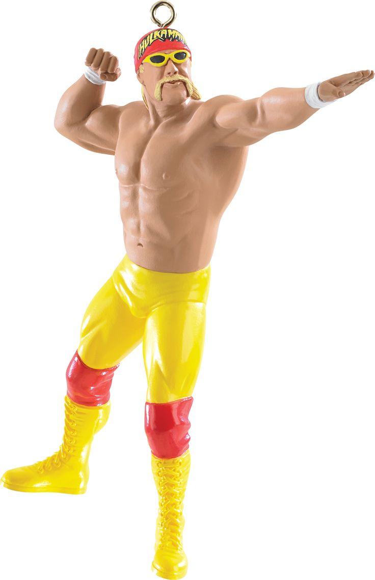 2015 Hulk Hogan Christmas Ornament Carlton Heirloom