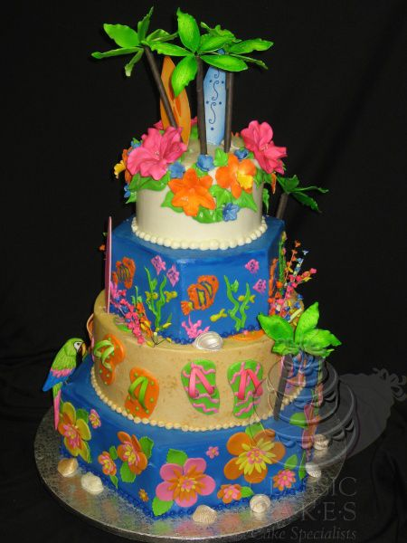 1000 Images About Luau Hawaiian Birthday Party Ideas On