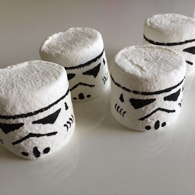 Marshmallow Stormtroopers Party Treats Star Wars