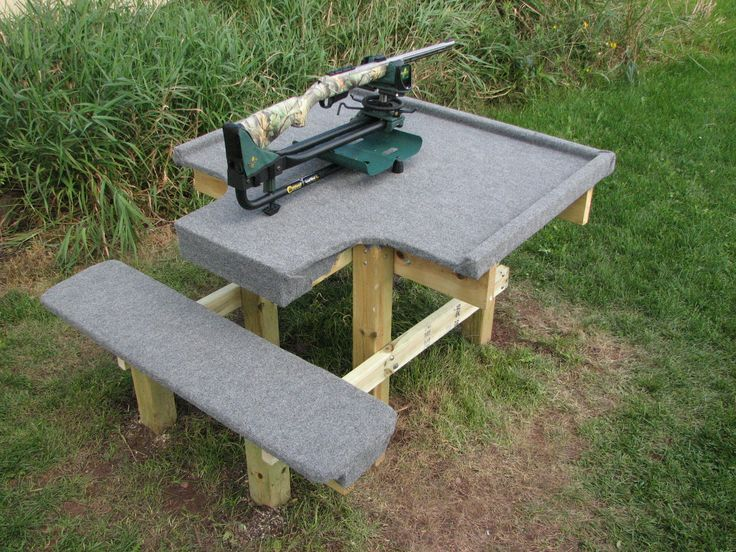 Plans For Wood Shooting Bench Woodworking Projects Amp Plans