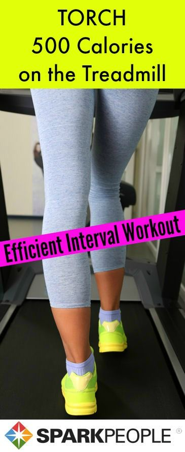 My favorite treadmill workout right now! Really helps keep me from getting bored.