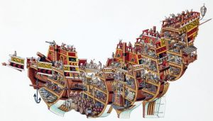 caravel diagram  Google Search | Ships & Boats | Pinterest | Spanish, Cross section and Comment