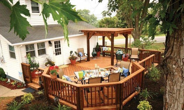 Small Back Porch Decorating | Deck | Bedroom Designs ... on Small Back Deck Decorating Ideas id=26653