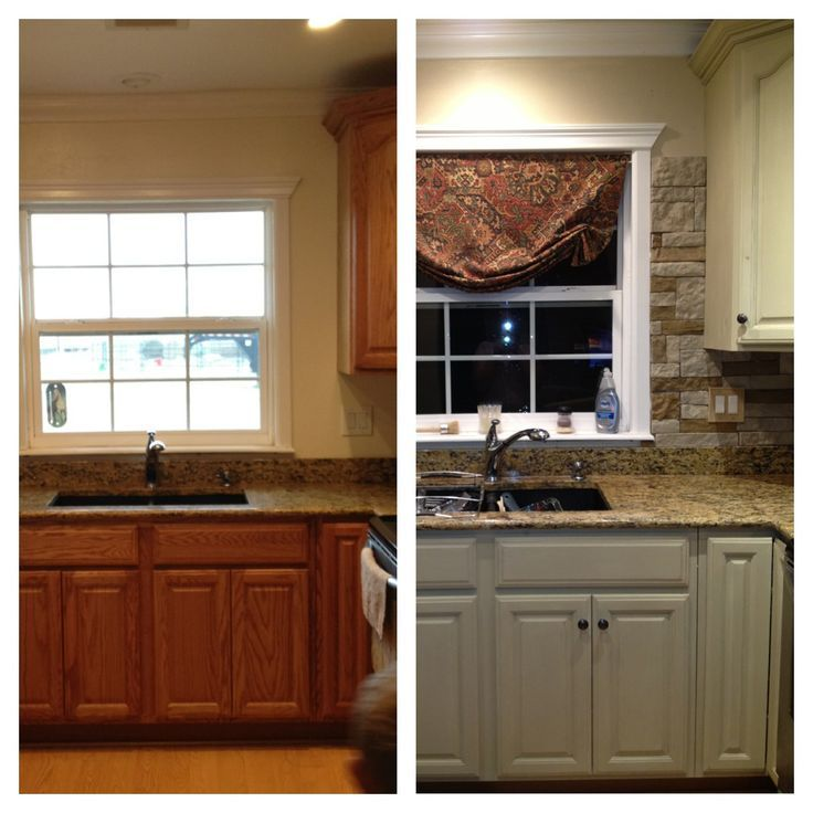 painted kitchen cabinets before and after google search kichen remodel ideas pinterest on kitchen cabinets painted before and after id=23528