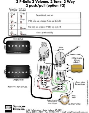 Wiring Diagrams Seymour Duncan  http:www