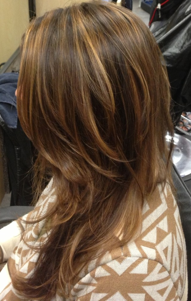 Balayage  hand painted highlights  hair  Pinterest