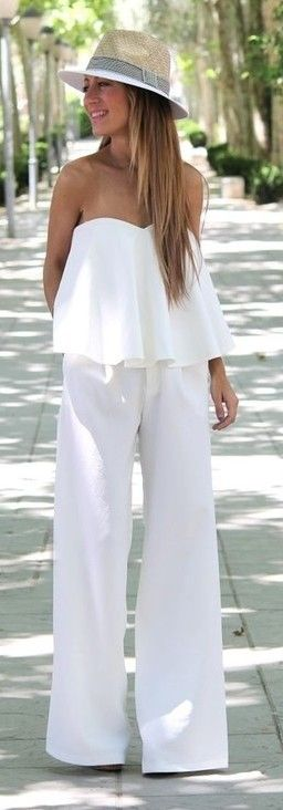 what a great white jumpsuit