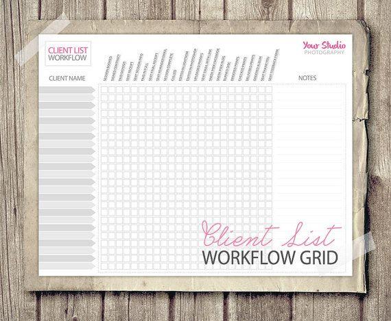 Photographer Checklist Client Workflow Photography