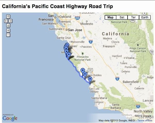 This 133 mile road trip takes you along the magnificent ...