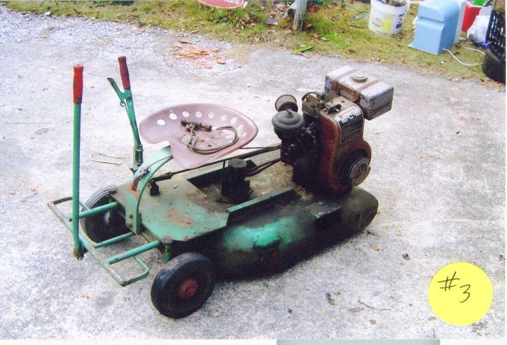 Vintage Snapper Push Mowers