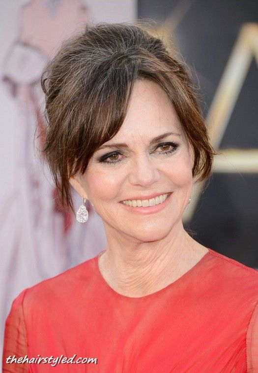 Sally Field Hairstyle For Older Women Age Over 60