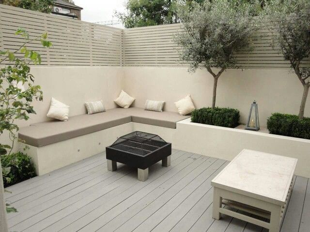 Patio chico | Deco | Pinterest | Patios, Gardens and Backyard on Back Garden Seating Area Ideas  id=41208