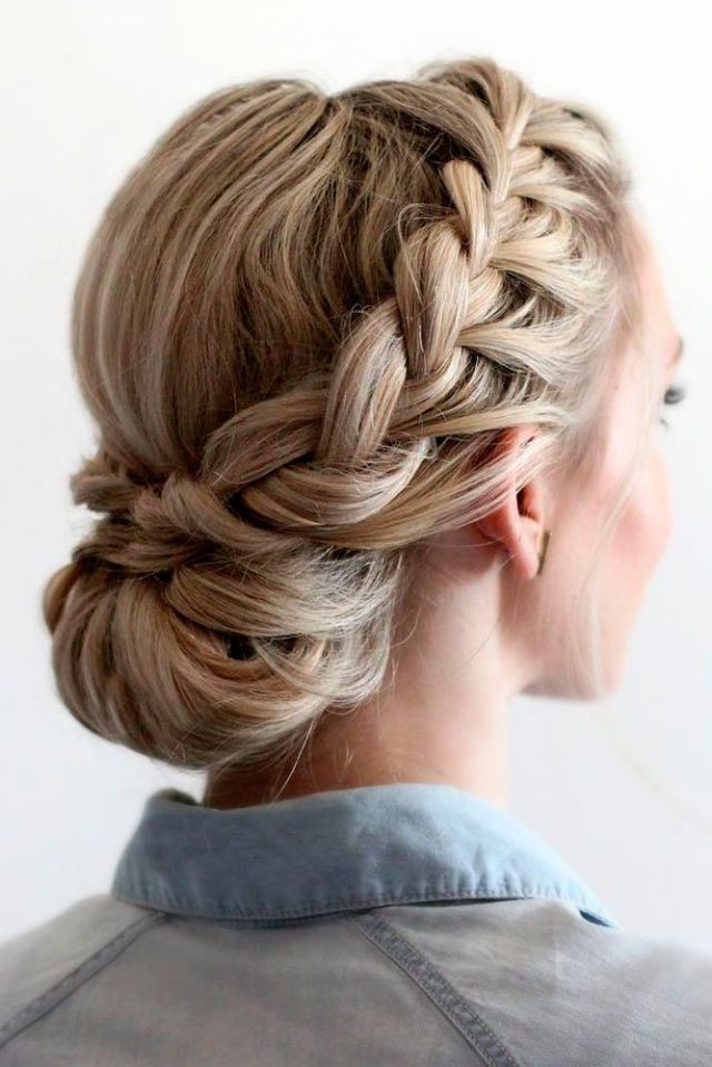 Best 25 Braided  updo  ideas on Pinterest Formal