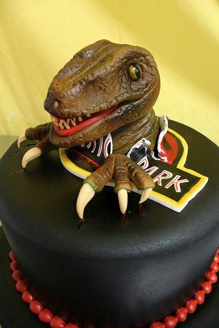 Velociraptor Birthday Cake Jurassic Park All Time Fav