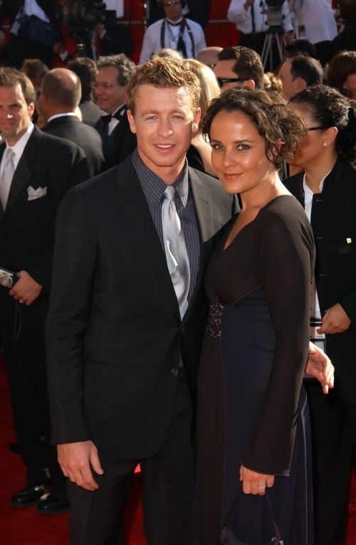 Simon Baker & wife Rebecca Rigg - married 1998 | Famous ...