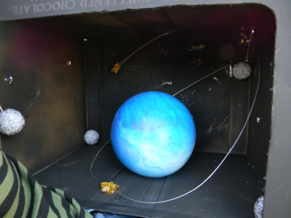 The planet Uranus 5th grand project Got A 115 ball from